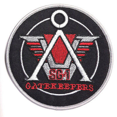 "Stargate SG-1 Gatekeepers Logo 4"" Embroidered Uniform Patch-USA Mailed(SGPA-10)"