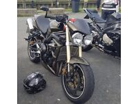 Street triple may swap sports bike try me