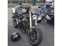 Street triple may swap sports bike try me