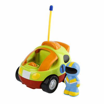 Remote Control Car for Kids Baby Toddlers Cartoon RC Race Car Toys Gifts KT