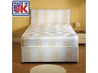 BRAND NEW SEMI ORTHOPAEDIC DOUBLE BED ** FREE DELIVERY **