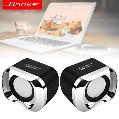 DX12 Portable USB2.0 Subwoofer Small Speaker 3.5mm Audio Plug USB Power Plug