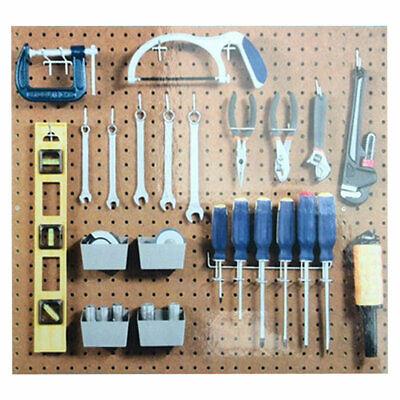 New Pegboard Hook Assortment Kit Storage Shop Garage Organizing Tools Hanger Us