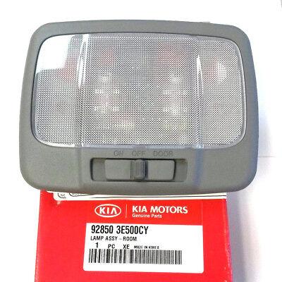 2007 2008 Kia Sorento Dome Lamp Dome Light Gray W Out Sunroof 92850 3E500cy Oem