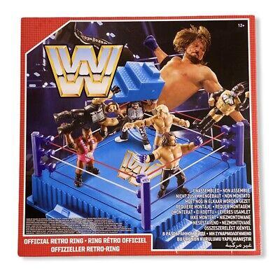 Wwf Official Retro Ring Action Figure Wrestling Mattel