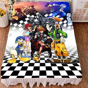Kingdom Hearts Bed Sheets