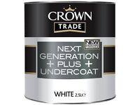 5 ltr Crown next Generation Plus undercoat rrp £30 +