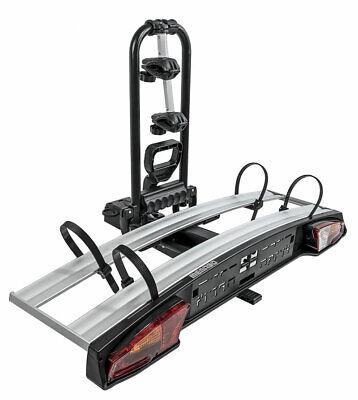 Portador En Enganche/Plataforma 2 Bicicletas Plegable - Menabo Alkor 2