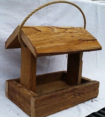 Rustic Amish Crafted Bird Feeder - Lancaster Cnty - PA