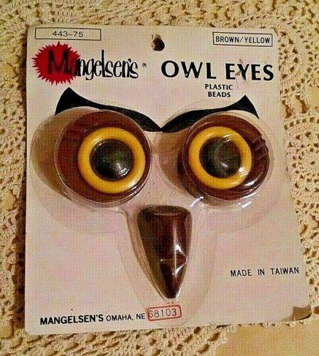 OWL EYES BEADS MANGELSEN