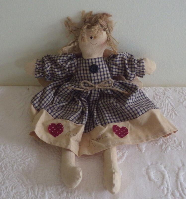 """Guardian Angel Doll Decorative Plush Stuffed 12"""" Tall"""