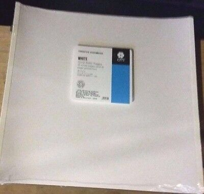 Creative Memories 12 X 12 True Pages White   Page Protectors 15 Of Each