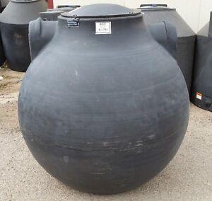 300 Gallon below ground Septic pump tank sphere Norwesco