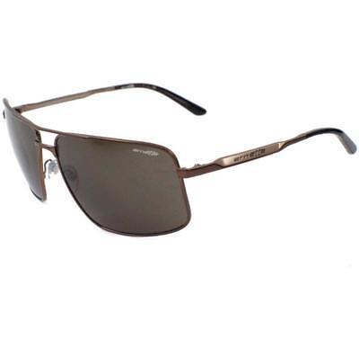 Arnette AN 3063-03 BACON 634/73 Matte Earth Brown Mens Metal Frame Sunglasses (Bacon Sunglasses)