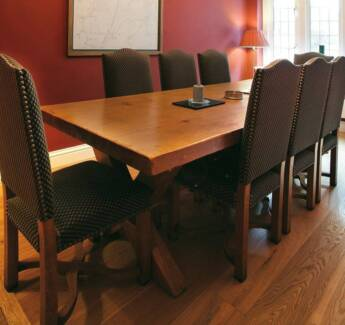 Handmade Solid French Oak Dining Table Avalon Pittwater Area Preview