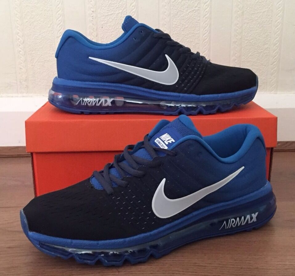 Nike Air Max 2017 Blue Black airmax trainers in Wallsend, Tyne and