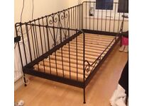 Ikea day bed - black