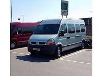 Renault master 17 seater minibus
