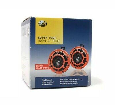 Genuine Hella Supertone Dual Horn W/ Relay UTE 4x4 SUV MPV Sedan Universal