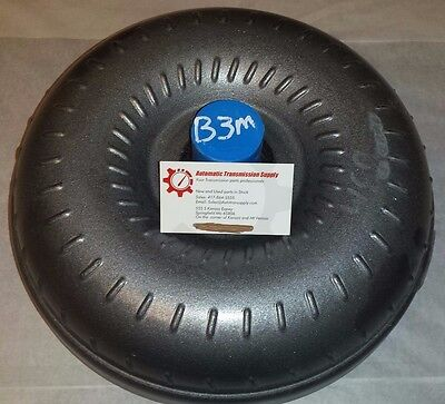 GM Turbo 400 3 Lug Torque Converter with New Bolts!!! Free Shipping!!! B3M