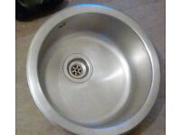 Round Kitchen Sink Basin