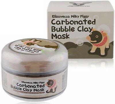 Pro Women Milky Piggy Carbonated Bubble Clay Mask Face Blackhead Pore Cleansing