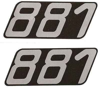 autocollant stickers MOBYLETTE motobecane 881