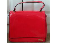 Red Patent Ladies Handbag