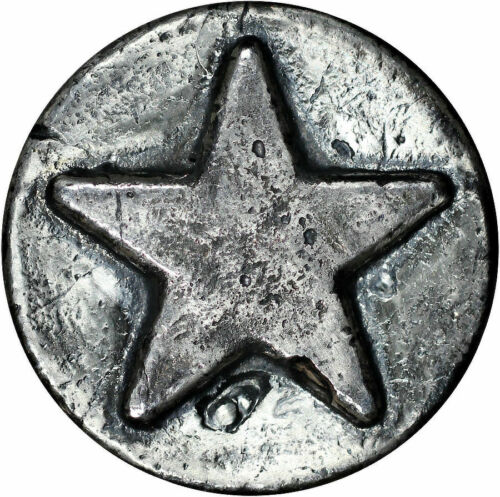 MK Barz Sheriff Star 3 Oz .999 Fine Silver Round - $115.00