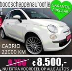 NU EXTRA VOORDELIG!!! Fiat 500C Cabrio Rood/Wit 22000km 2011