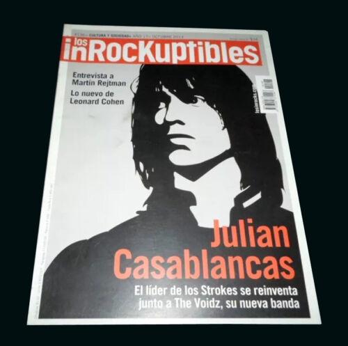 JULIAN CASABLANCAS - THE STROKERS - Inrockuptibles Argentina Magazine #196