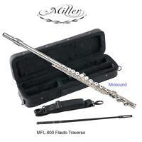 Miller Mfl-800 Flauto Traverso In Do 16 Fori Chiusi Mi Snodato + Astuccio Mfl800 - miller - ebay.it