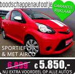 NU EXTRA VOORDELIG!!! Toyota Aygo 1.0 Sport / Airco/ 12-2012
