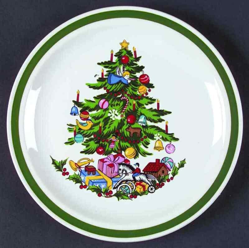 International NOEL Salad Plate 265830