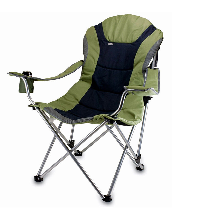 Picnic Time Portable Reclining Camp Chair
