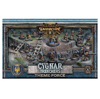 Warmachine Cygnar Trencher Theme Force Box PIP31901