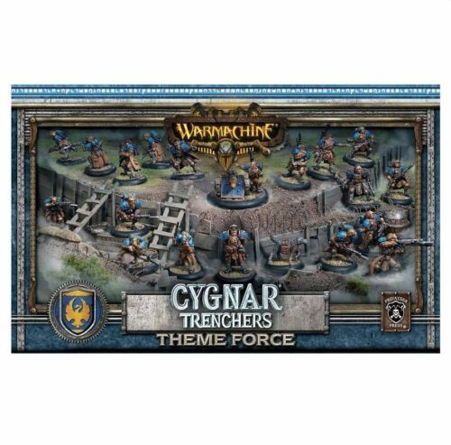 Warmachine Cygnar Trencher Theme Force Box PIP31901 Privateer Press