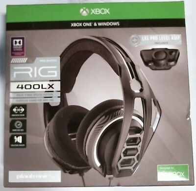 Plantronics 206314-60RIG 400LX Gaming Headset for Xbox One, LX1 Adapter