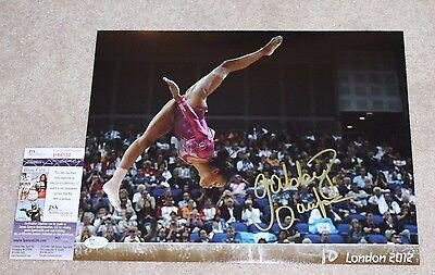 Gabby Douglas Signed 11X14 Photo Jsa Coa 2016 Rio Olympics Final Five Gold Medal