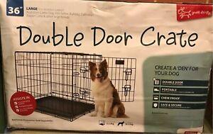 """Masterpet LARGE 36"""" Double Door Crate"""