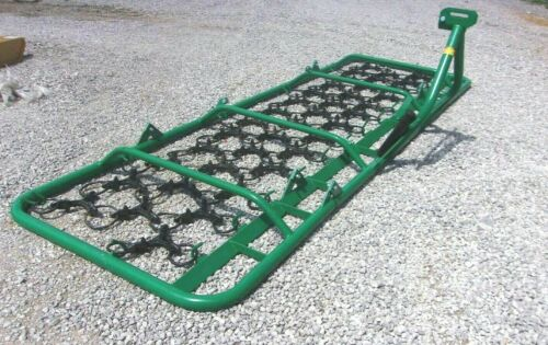 New 13 Ft. Agmate Folding Field Harrow 3 Point --CHEAP SHIPPING WILL AMAZE YOU