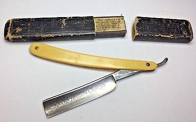 Diamond Steel Straight Razor Hartford Cutlery Full Hollow Ground Shaving Blade  Full Hollow Ground