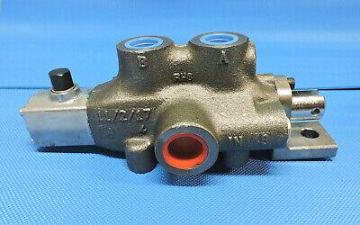 Gresen Single Spool Hydraulic Valve