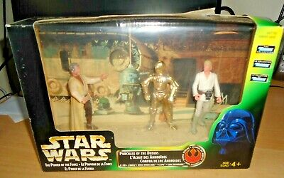 STAR WARS KENNER Purchase Of The Droids Set Uncle Owen Lars C3PO Luke Skywalker