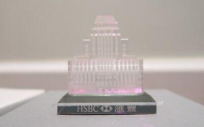 Hsbc Hong Kong Old Bank Building Crystal  65Cr
