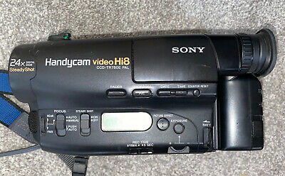 SONY CCD-TR780E ANALOGUE CAMCORDER (Hi8 8mm Video 8 Playback SP/LP )