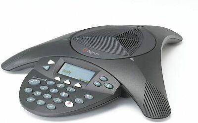 Polycom Soundstation 2 Corded Conference Phone - Black