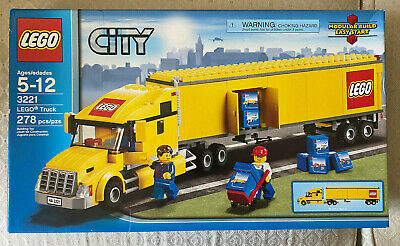 Lego City Truck 3221 NIB Retired RARE