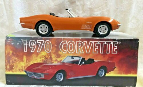 1970 Corvette Convertible Decanter  Jim Beam Club IAJBBSC Orange  (M5)