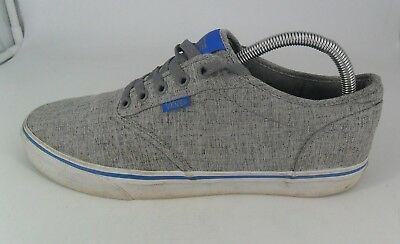 VANS Men's Atwood Contrast Stitch Lace Up Sneaker- Grey UK 9 EU 43 JS086 JJ 05